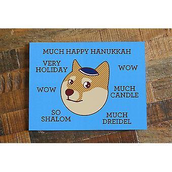 Doge Hanukkah Card Such Happy Hanukkah