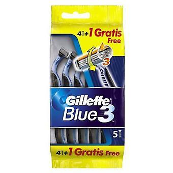 Gillette Blue3 Kertakäyttöiset partaterät 5 yksikköä