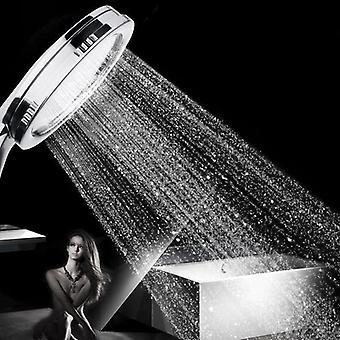 Korkeapaineinen tehostussuihke - vettä säästävä suihku