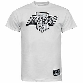 Majestic NHL LA Kings Short Sleeve White Cotton Mens T-Shirt N1AWBV LK0100 R8F