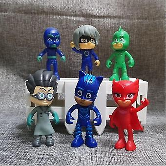 Cartoon Pj Mask Juguete, Character, Anime Figures,