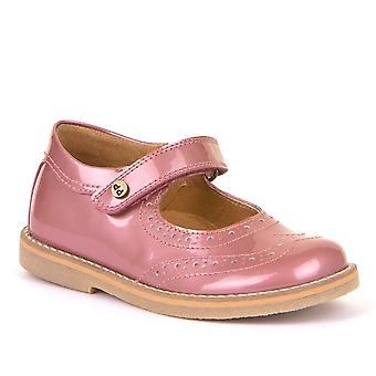 FRODDO Stitch Down Mary Jane Shoe Pink