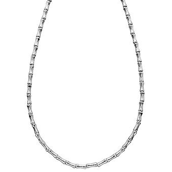 Elements Silver Bamboo Collier - Argent
