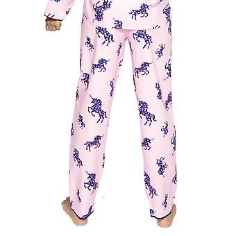 Cyberjammies Ariana 4719 Femme & s Unicorn Pink Cotton Pyjama Pant