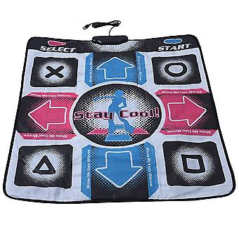 Tv dance mat non-slip dance revolution ddr dancing pad blanket for windows 98/2000/ xp/ 7 os with us