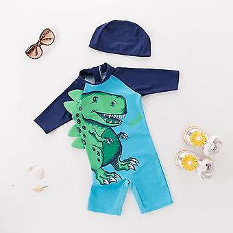 Baby Swimwear Hooded Shark Suit - Baby Surfer Kleding