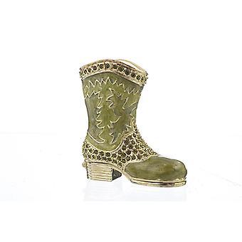 Green Musketeer Shoe- Trinket Box