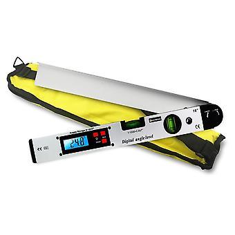 Digital Goniometer Electronic Protractor Angle Finder Level Measuring Meter