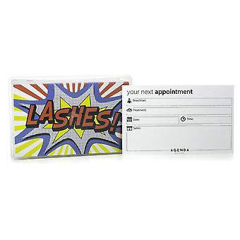Agenda Lashes Appointment Cards (Pack Of 100)
