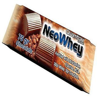 Quamtrax Nutrition Box of Neo Whey Chocolate Bars 30 Units