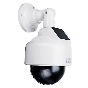 Energia solare falso fotocamera CCTV realistico dummy sicurezza Cam simulation Monitor
