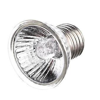 أضواء حروق الشمس Uvb السلاحف قابل للتعديل، مصباح التدفئة الزواحف