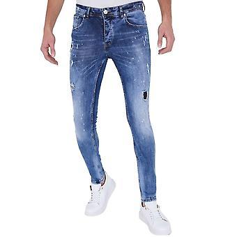 Paint Drops Jeans - Slim Fit - 5301E - Blue