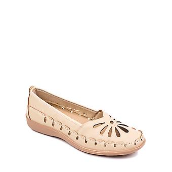 Chums Ladies Cut Out Slip On Shoe