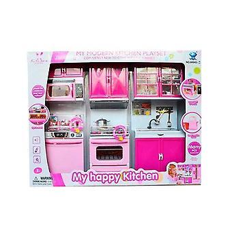 My Happy Kitchen Modern Kitchen Set