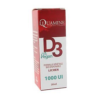 Liquamine d3 vegan 1000ui 20 ml