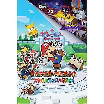 Super Mario The Origami King Affiche