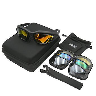 Tactical Military Sunglasses, Bullet-proof Lens