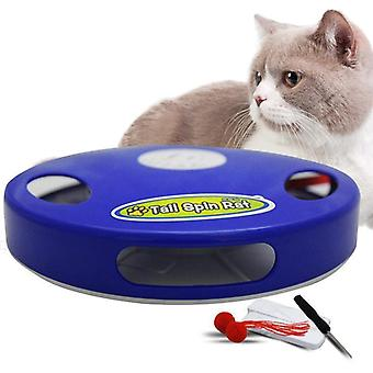 Automatic Cat Toy Multi-position Adjustable (blue)