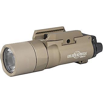 Surefire x300u-b-tn x300 tan picatinny military tactical pistol weapon light