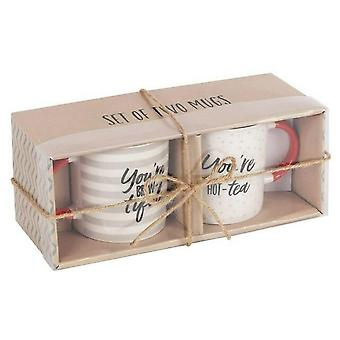 Jotain erilaista Brew-tiful / Hot-tea Mukit (Set of 2)