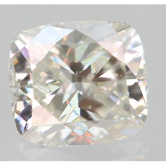 Gecertificeerd 0.33 Karaat F VVS2 Kussen Enhanced Natural Loose Diamond 4.42x3.94mm