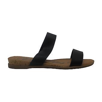 American Rag Womens Easten Cuir Open Toe Casual Slide Sandals