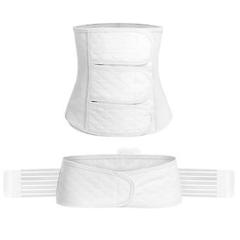 2in1 Ren bomull Mage / bäcken Postpartum Belt Body Recovery Shapewear
