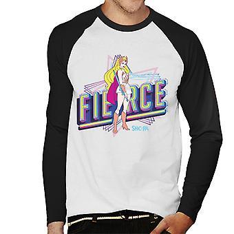 She-Ra Fierce Men's Baseball Long Sleeved T-Shirt