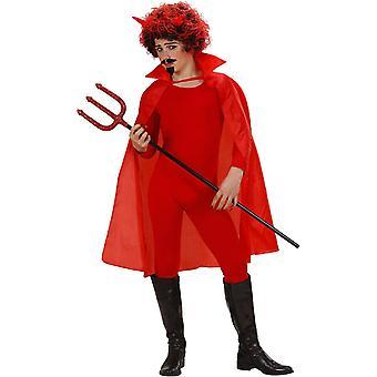 Rode kaap met kindkraag
