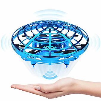 Operated Drone For Kids - Hands Free Mini Drones For Flying Toys-blue