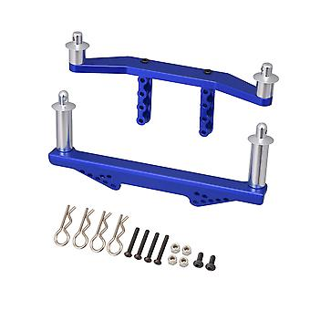 2x Navy Blue RC1:10 Front Rear Body Mount Replacement for TRAXXAS Slash