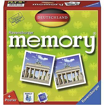 FengChun Ravensburger 26630 - Deutschland Memory, der Spieleklassiker quer durch Deutschland,