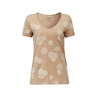 ESPRIT 030EE1K339 T-Shirt, 270/beige, XS Dames