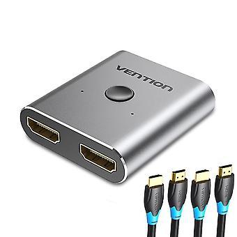 محول محول يدعم الترا HD 4k 1080p 3d Hdr Hdcp لPs4 أجهزة إكس بوكس Hdtv