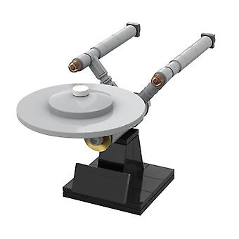Statek kosmiczny Ncc 1701 High Brick Części Dekoracja domu Dzieci DIY Mózgu Gry Zabawki urodzinowe Prezenty| Bloki