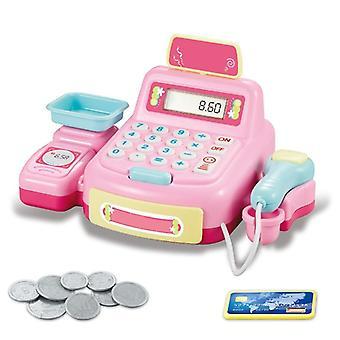 الاطفال التظاهر محاكاة النقدية تسجيل التسوق أمين الصندوق دور لعبة
