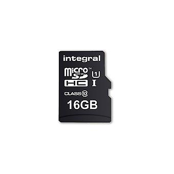 Ενσωματωμένο 16GB μικροϋπολογιστής κάρτα SD MicroSDHC CL10 UHS 1 90 Mb/s + smartphone προσαρμοστών & ταμπλέτα