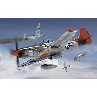 北米のP-51Dマスタング1:72シリーズ1エアフィックスモデルキット