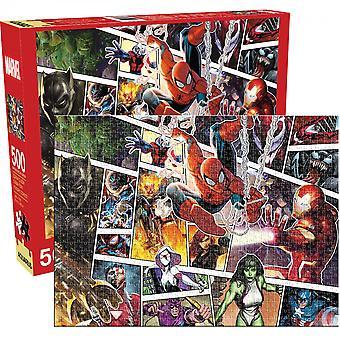 Marvel-hahmopaneelit 500-osainen palapeli