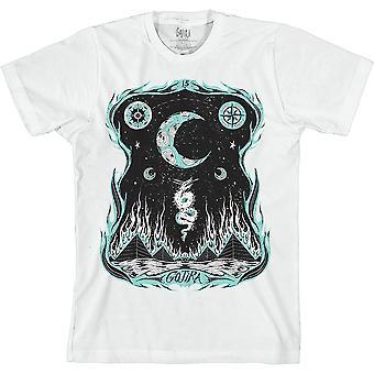 Gojira - Dragons Dwell Unisex Large T-Shirt - Bianco