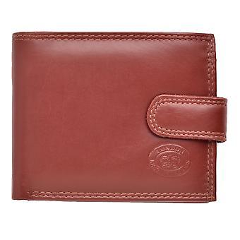 Men's Soft Leather Triple Fold Wallet