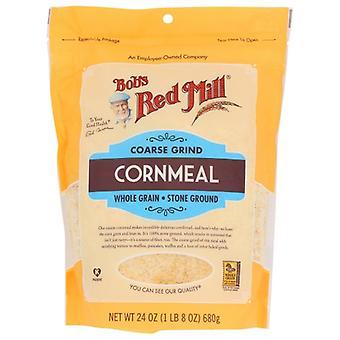 Bobs Red Mill Cornmeal Grov Slipning, Fodral av 4 X 24 Oz