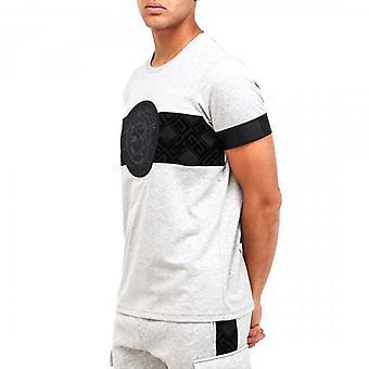 Glorious Gangsta Zaiar Grey Marl Stretch T-shirt