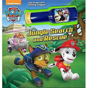 Nickelodeon Paw Patrol Jungle Sök och rädda sagobok med Spyscope Viewer av Anpassad av Mackenzie Buckley