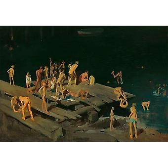 Forty-two Kids , George Bellows