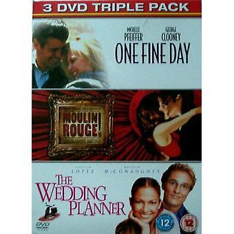 ONE FINE DAY MOULIN ROUGE THE WEDDIN DVD Region 2