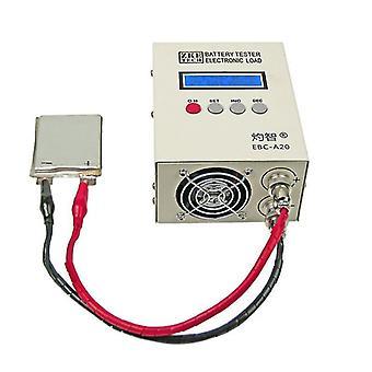 EBC-A20 Akkutestaaja 30V 20A 85W Litium Lyijy-happo Akut KapasiteettiTesti 5A Lataus 20A Purkaus