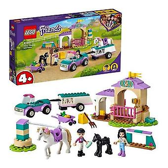 Playset Friends Horse Training and Trailer Lego 41441 (148 pcs)