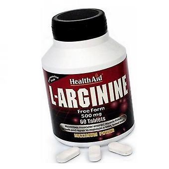 HealthAid L-Arginiini 500 mg tabletit 60 (802030)